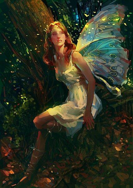 §§§         L'elfe de la fOrêt, et la forêt chuchote ...       §§§