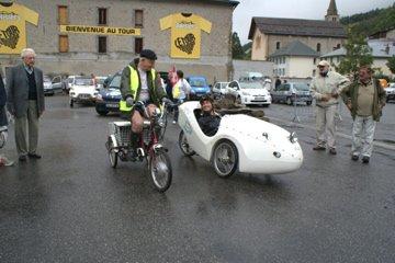 Traversée des Alpes en véhicule électrique 2010