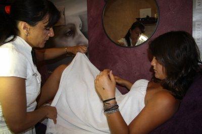 Côté épilation et massages