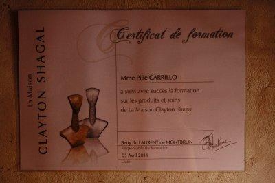 Présentation de notre Estheticienne : Pilie Carillo