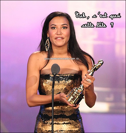 11 Septembre 2011 : Naya aux ALMA Awards !