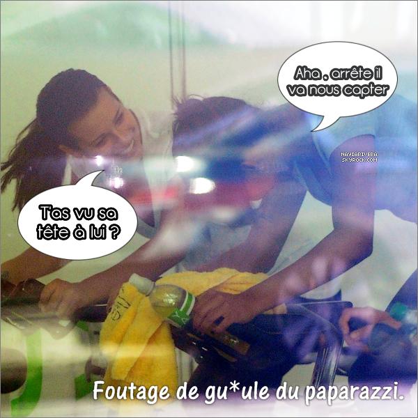 27 Septembre : Naya en compagnie de Lea Michele se rendant à la salle de gym.