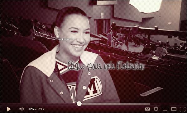 29 Janvier 2012 : Naya parle de son amour pour MJ lors d'une interview à propos de l'épisode «Michael».