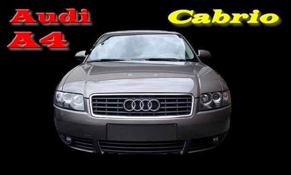 JE PREPARE MON AUDI A4 CABRIOLET 2,5L TDI V6 164CV POUR LA BELLE SAISON