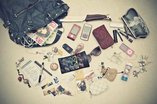 Un sac de fille : Un sac chargé !