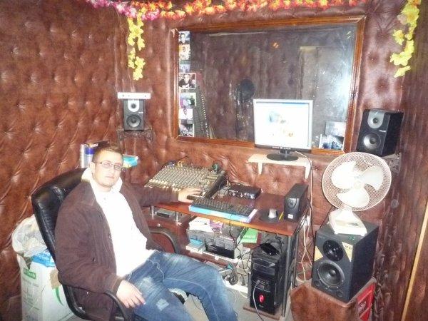 Dj Dahou au Studio Nachat