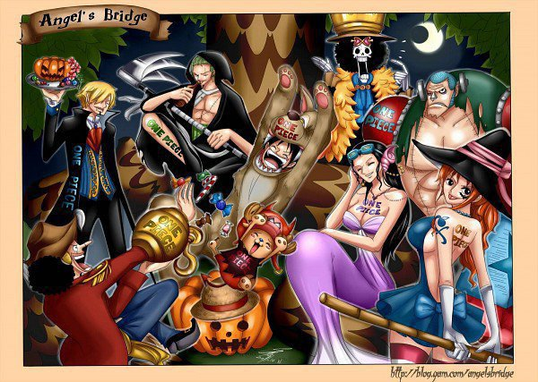 Image One piece Halloween !
