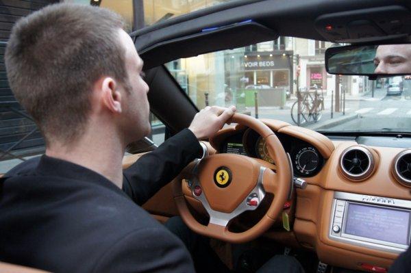 En Ferrari pour le Week-end =)