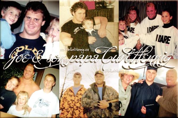 """""""Il n'était pas seulement que mon père. Il était aussi mon frère, mon héros, ...mon meilleur ami"""" Joe"""