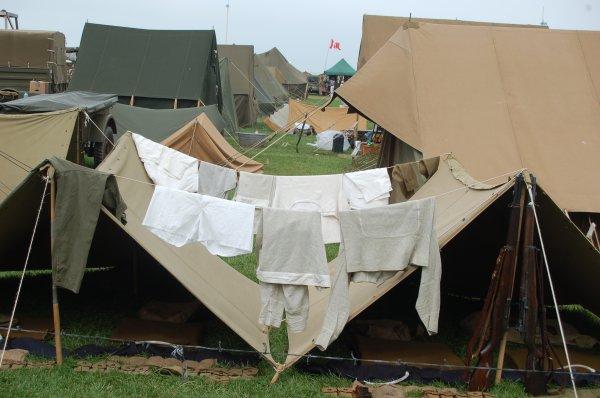 dieppe campement militaire