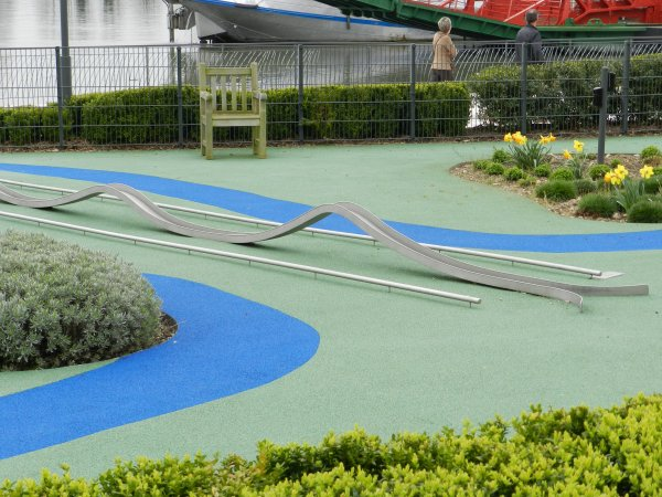 mini golf de caudebec en caux