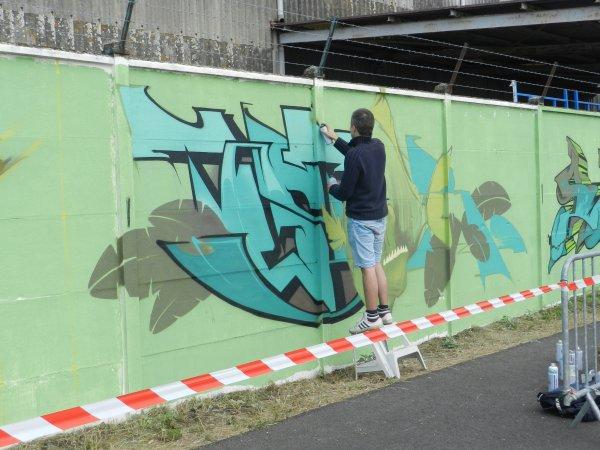 1 juillet on peint sur les murs et c est permis