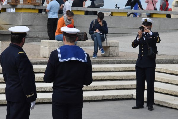 ceremonie 14 juillet au treport