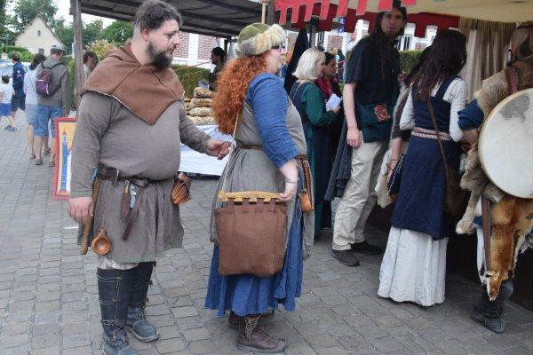 fete medieval le 22 juillet a jumiege