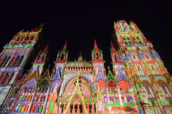 un soir a la cathedral le 27 juillet