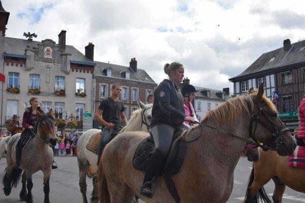 fete du cheval  a forges les eaux le 30 juillet