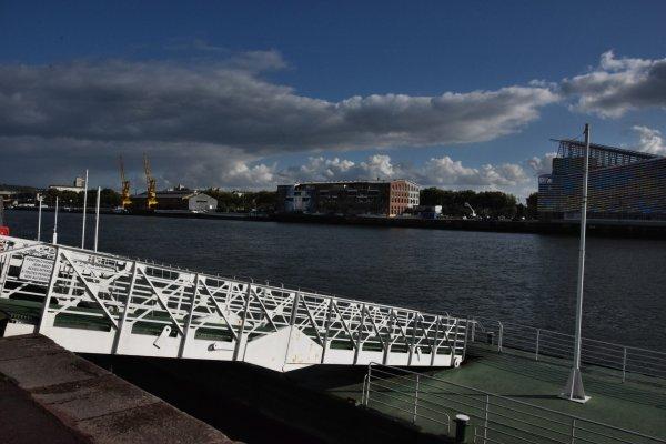 14 septembre a rouen sur les quais
