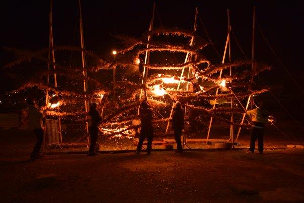 fecamp quand la sculture ne veux pas prendre feu