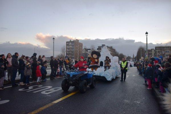 parade de noel a rouen avant le deluge