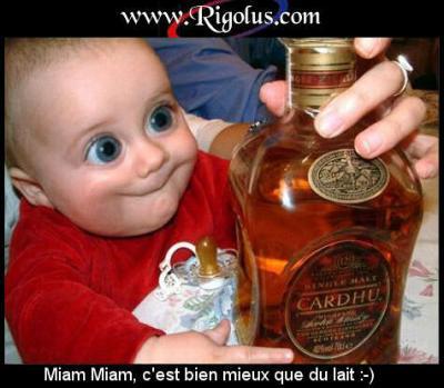 Baby alcoolique