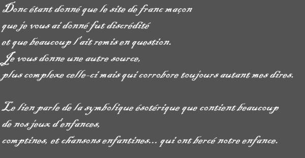 Réponse à un commentaire sur l'article ci dessus: Au Clair de La Lune, Mon Amie Pierrot...