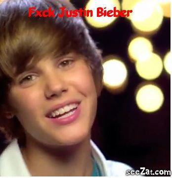 I ♥ pas Justin Bieber !       >:(