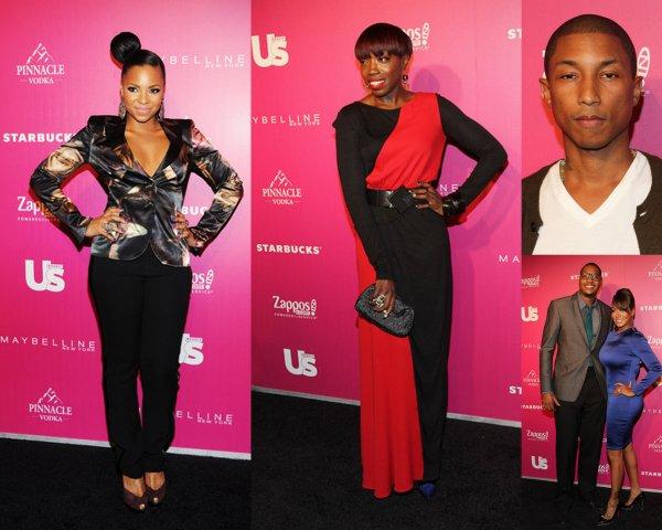 Ashanti,Estelle,Pharrell Williams, Lala Vasquez et Carmelo Anthony... ont été nommé comme l'un des Us Weekly les plus élégants des New Yorkais et ont célébrer sa  au Penthouse à NYC