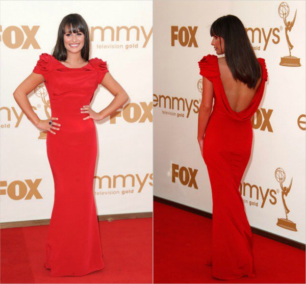 Lea (actrices dans la série Glee) pour moi je trouve que c'est elle qui à la plus belle robe