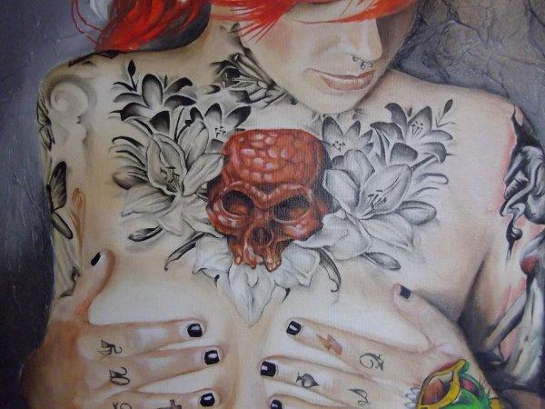 Détail tatouage