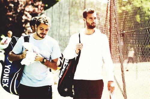 Les meilleurs : Gilou, Benoit, Wawrinka, Federer ♥