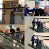 . 17/02/12 ▬Selena est allé faire du shopping au Beverly Center à Los Angeles en compagnie de Justin..