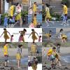 . 17/02/12 ▬Jelena et la famille de Justin sont allés s'amuser sur la plage de Malibu..