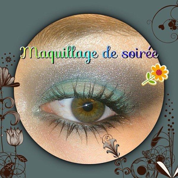 MAQUILLAGE DE SOIRÉE #1