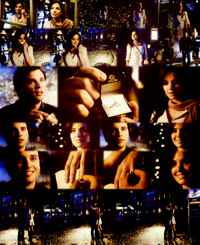 picture of the day ; clois and clark proposal