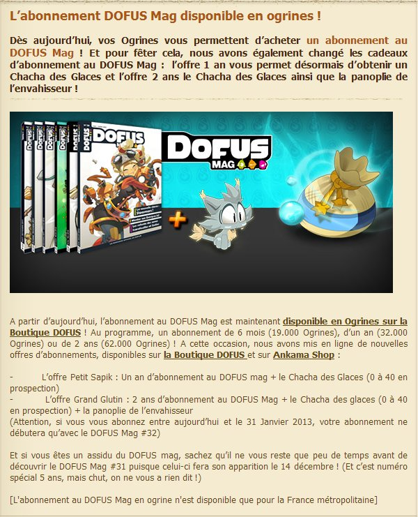 Des nouvelles & nouveautés Loterie !