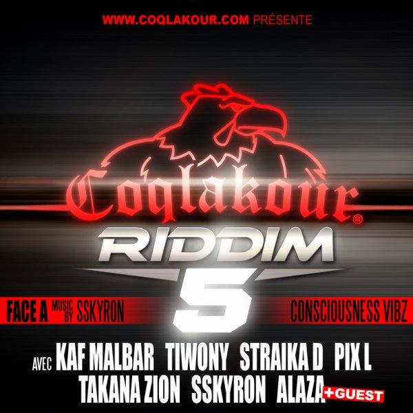 Coqlakour Riddim 5 - Face A / Kaf Malbar - Kroi En Nou Mem (Riddim Clk 5 Face A) (2013)