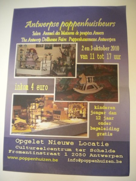 SALON MINIATURES D'ANVERS