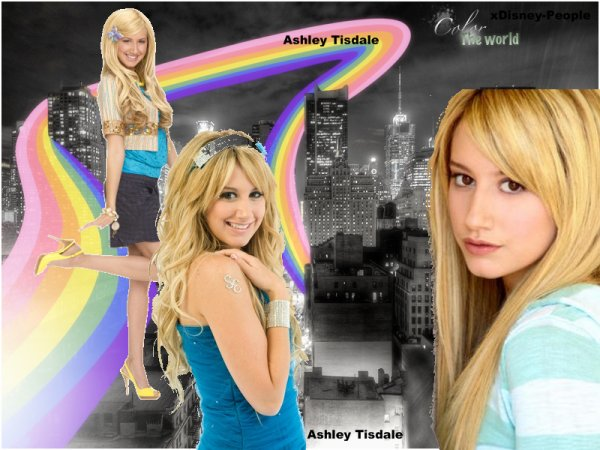 1. Ashley Tisdale