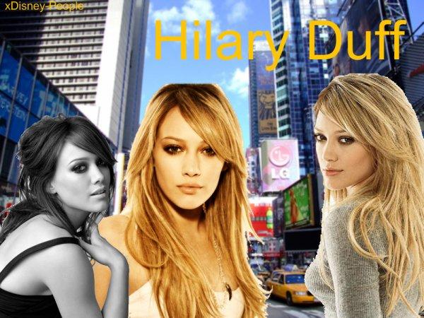 6.Hilary Duff
