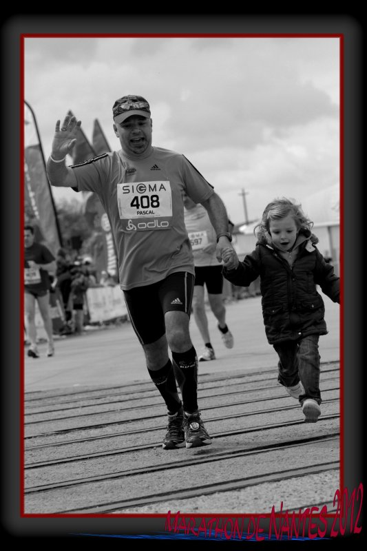 Marathon de Nantes 2012 :  la course  ...