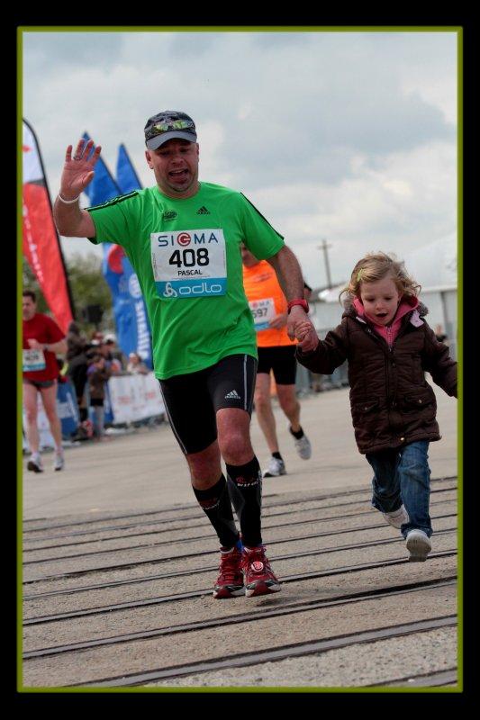 Marathon de Nantes 2012 :  la course suite & Fin  ...