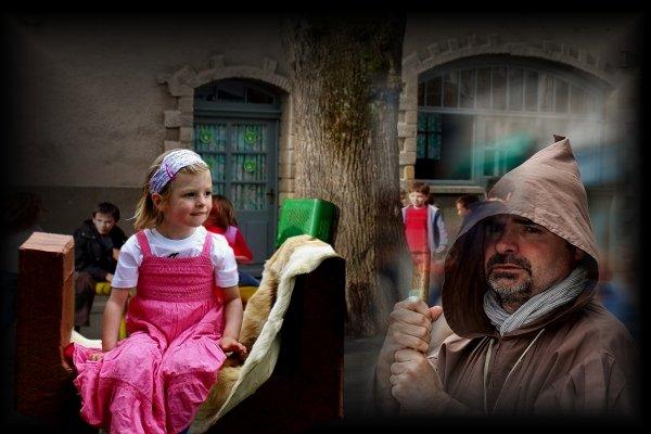 Balade à Compiègne dans un village médiéval ...suite ...