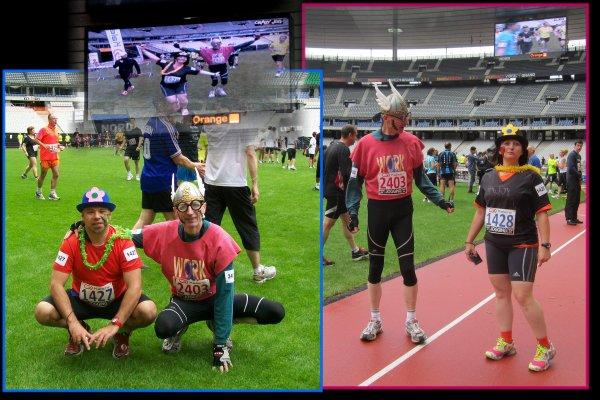 La Crasy Jog 2012 à Paris  ...