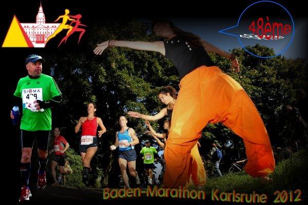 Marathon de Baden - Karlsruhe en Allemagne.
