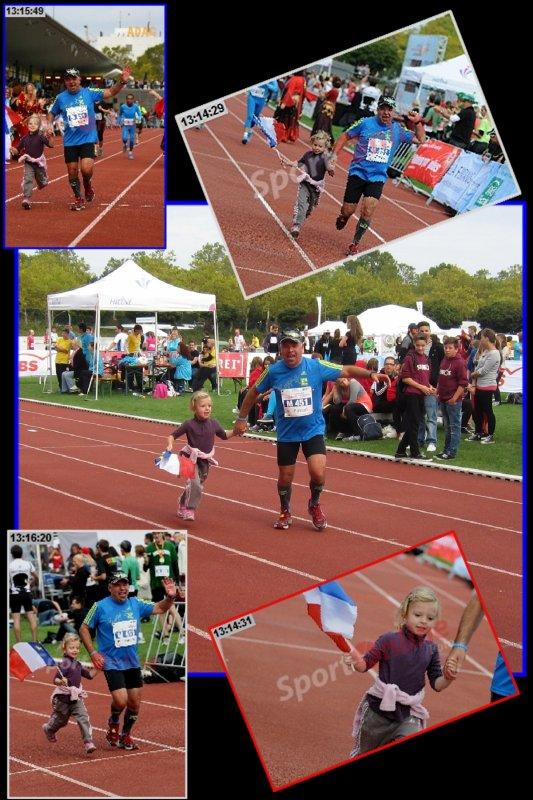 Baden Marathon Karlsruhe 2012 ...COURSE poursuite ...