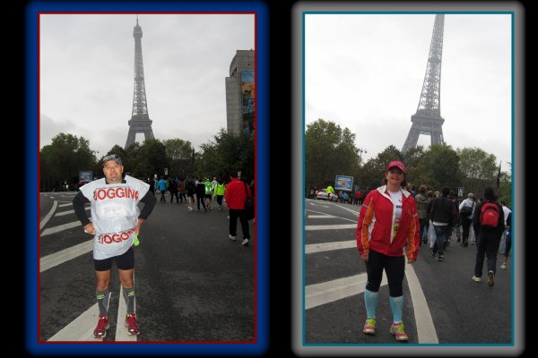 20 km de Paris 2012 ... LA COURSE ...