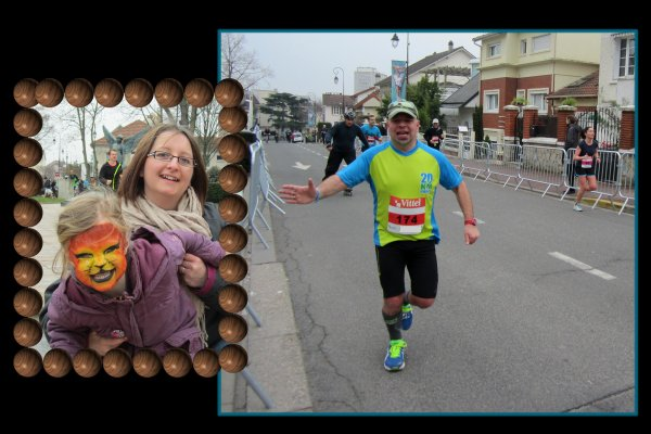 Week-end ... Semi-Marathon d'Antony 2013 --- la course ---