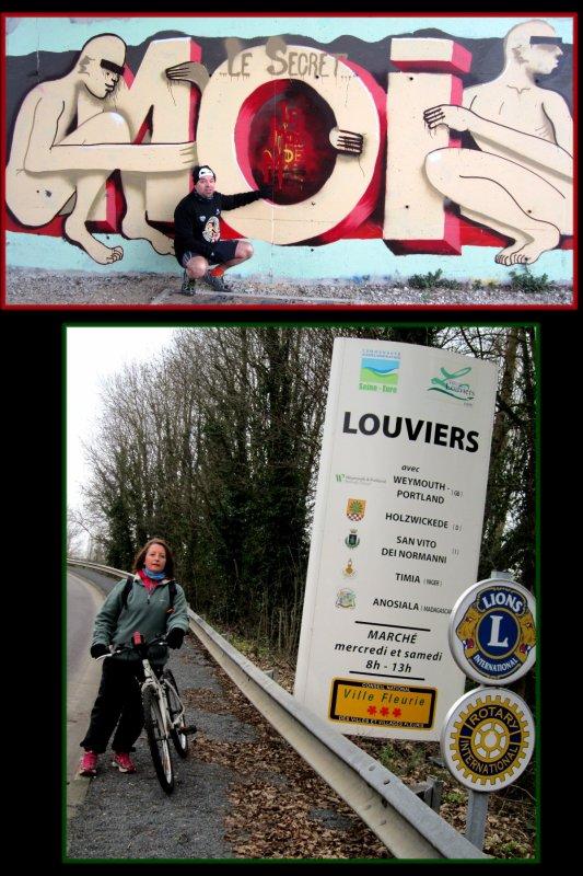 Souvenirs de Février sur la route de Louviers !