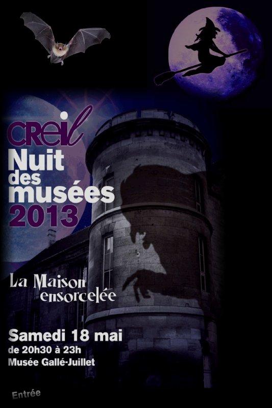 La Nuit des musées 2013 : La maison ensorcelée ....1ère Partie....