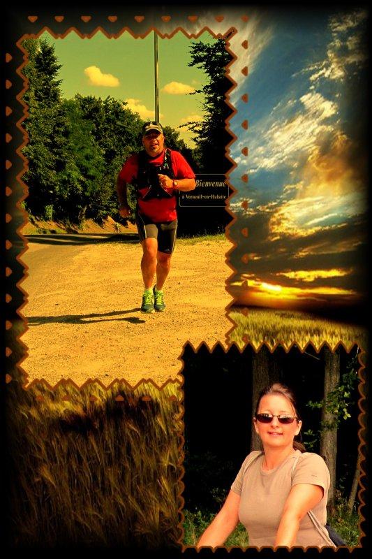 Elise, Eryn & Pascal, les coureurs à pied ...